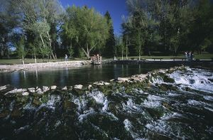 United States of America, Montana, Giant Springs Heritage State Park, spring water