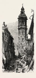 Valencia, Spain, 19th century engraving