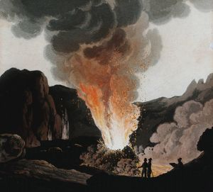 history/vesuvius early 19th century eruptions people