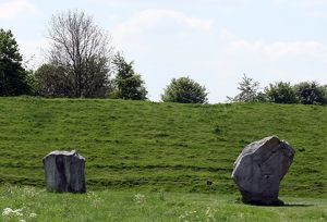 View of Avebury Stones 2013 A.D.