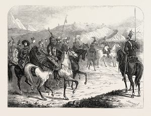 THE WAR IN CIRCASSIA: ASSEMBLING OF RUSSIAN TROOPS FOR THE CAMPAIGN OF THE CAUCASUS, 1846