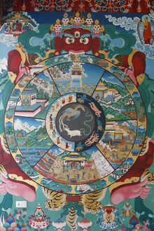 Wheel of life or wheel of Samsara