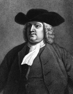 William Penn (1644-1718) English member of the Society of Friends, popularly known