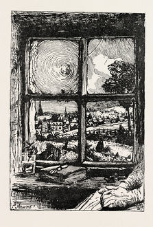 A Window In Thrums Drawn By W. Hole