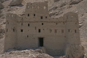 world heritage/building exterior/yemen hadhramaut province traditional mud brick