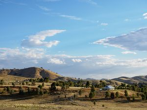 Australia, New South Wales, Gundagai, Non urban landscape