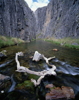 Australia, New South Wales, Kosciuszko National Park, Coolaman River