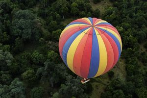 Balloon Over The Masai Mara