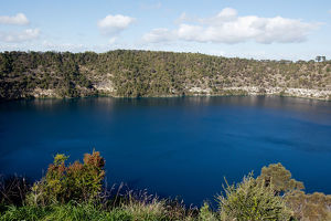 Blue Lake. Mount Gambier. South Australia.