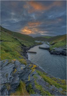 Boscastle Harbour, Cornwall, england