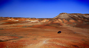 The Breakaways in Outback Australia