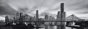 Brisbane city from the Story Bridge