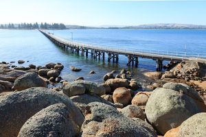 Causeway at Victor Harbor