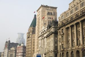 China, Shanghai, The Bund, street, outdoors