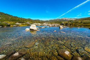 Clear water in Kosciuszko National Park