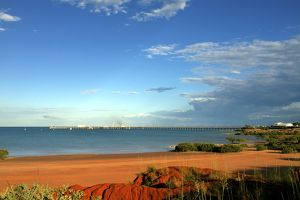 Coastal view from Broome, Western Australia