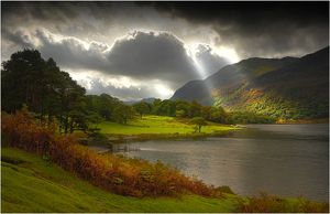 Crummock water, Lakes District, Cumbria, England