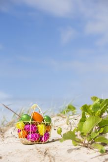 Easter Eggs Beach