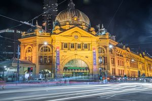 Flinders street station the iconic of Melbourne.