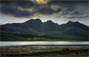 Light over the Cuillins, Isle of Skye, Scotland