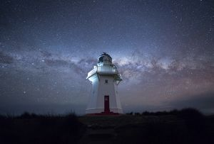 Lighthouse and the nights milkyway