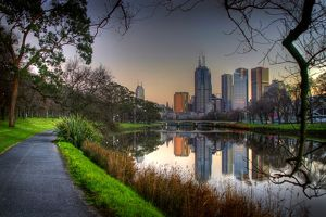 Melbourne Reflected