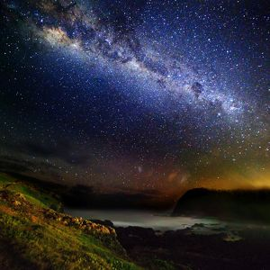 Milky Way over Crescent Head