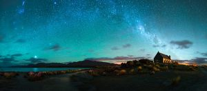 Milky way above Lake Tekapo, New Zealand