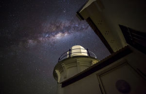 Milky Way Over Tacking Point Lighthouse