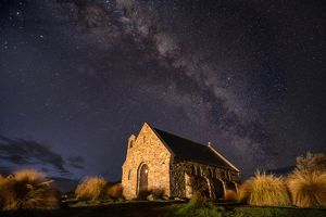 Under the million stars at Church of the Good Shepherd
