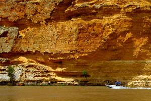 Murray river cliffs