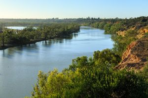 Murray River. Waikerie. South Australia.