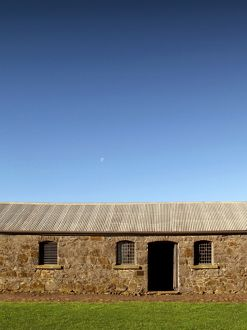 Old stone horse stables