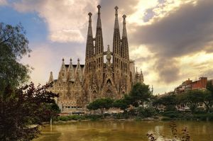 Sagrada Familia (Basilica and Expiatory Church of the Holy Family) By Antoni Gaudi