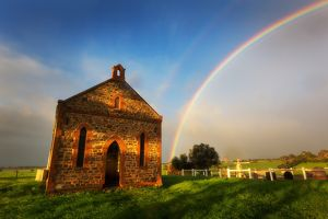 Strathalbyn Church Rainbow