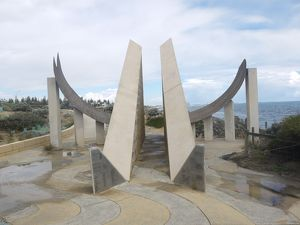 Sundial at Cottesloe