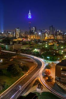 View Of Hillbrow Tower & City Skyline, Johannesburg, Gauteng Province, South Africa
