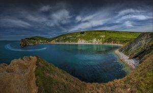 View to Lulworth cove