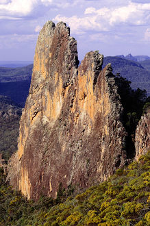 WARRUMBUNGLE NATATIONAL PARK IN THE NEW SOUTH WALES, AUSTRALIA