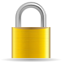 Yacht reflection with blue mooring line