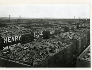 Aintree coal sidings, Lancashire and Yorkshire Railway, April 1911
