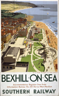 'Bexhill-on-Sea', SR poster, 1947.