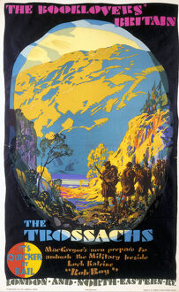 'The Booklovers' Britain: The Trossachs', LNER poster, 1927.