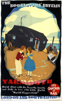 'The Booklovers' Britain: Yarmouth', LNER poster, 1933.