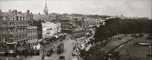 'Bournemouth: The Square', LMS carriage photograph, c 1930s.