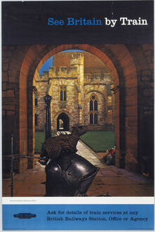 'See Britain by Train - Penshurst Place, Penshurst, Kent', BR poster, 1948-1965.