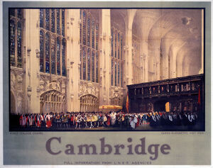 'Cambridge: King's College Chapel',