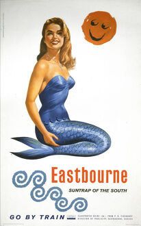 'Eastbourne, Suntrap of the South', BR poster, 1961.