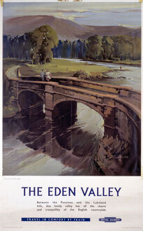 'The Eden Valley', BR (LMR) poster, 1959.