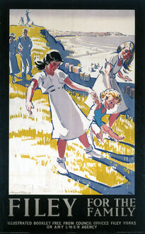 'Filey for the Family', LNER poster, 1931.